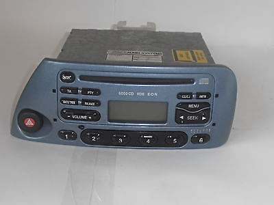 Ford Ka Models From  Radio  Cd Player Eon With Security Code